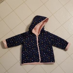 Other - Toddlers Reversible Quilt Jacket